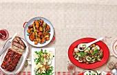Kaltes Buffet mit Terrine, Röstgemüse & Salaten