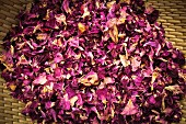 Dried rose petals from Burgenland, Austria
