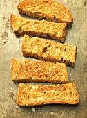 Brown toast soldiers