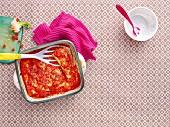 Aubergine cannelloni