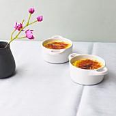 Lavender crème brûlée