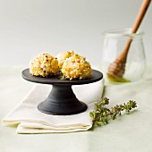 Goat's cheese balls