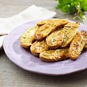 Provençale baked potatoes 'la ratte'