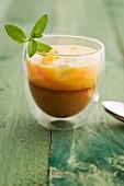 Gazpacho aus Zitrusfrüchten