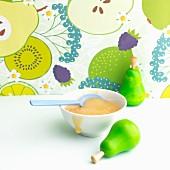Pear purée