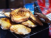 Toasted sandwiches at a market in Pretoria (South Africa)