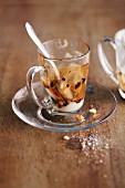 Kartoffelcreme mit Trüffeljus (aufgegessen)