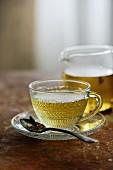 Liquorice root tea to curb sweet cravings
