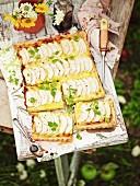 Apfel-Brie-Tarte