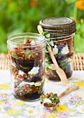 Mediterranean lentil medley