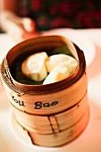 Steamed Japanese dumplings