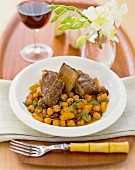 Beef with chickpeas