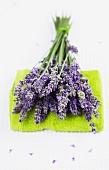 Lavender on a towel