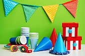 Materials for a children's' party