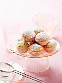 Orange muffins with poppyseeds