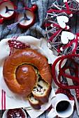 La Gubana (Italian Christmas cake)