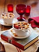 Apfel-Himbeer-Pie (weihnachtlich)