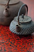 Two Chinese teapots