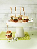 Mini sandwiches with salsiccia meatballs