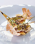 Langoustine with olives