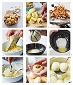 Kartoffelknödel zubereiten