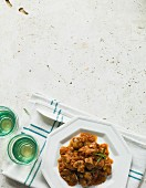 Simple veal ragout