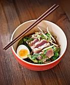 Ramen with tuna (Japan)