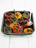 Paprika aus dem Ofen