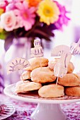 Bread rolls for a tea party