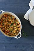 Oriental style quinoa pilau