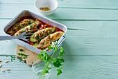 Ernährung bei ADHS: Zucchinischiffchen mit Hackfleisch