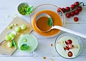 Ernährung bei ADHS: Geeiste Avocadosuppe, Gazpacho & Gurkenkaltschale