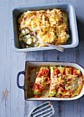 Ernährung bei ADHS: Blumenkohl-Lasagne & gefüllte Cannelloni
