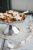 Cinnamon stars in a dish