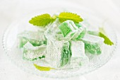 Mint lokum (Turkish Delight)