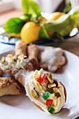 Cannoli- typische Süßigkeiten aus Sizilien