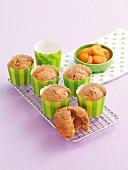 Karotten und Aprikosen-Muffins
