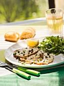 Vitello tonnato (Kalbfleisch mit Thunfischsauce, Italien)