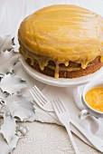 Poppyseed and lemon cake