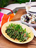 Fragrant asparagus salad and Beetroot, quinoa and fetta salad