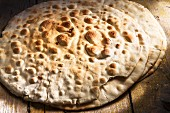 Spianata Sarda bread, Sardinia, Italy