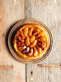 Apple tarte tatin with calvados
