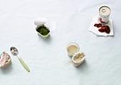 Zutaten für schnelle vegane Gerichte