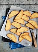 Orange biscotti with rosemary