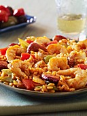 Jambalaya with prawns and sausage (USA)