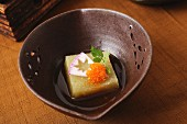 Boiled radish with caviar (Japan)