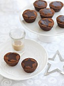 Baileys chocolate tarts for Christmas