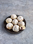 Amaretti with amarena cherries