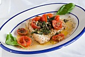 Swordfish with capers