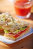 A club sandwich